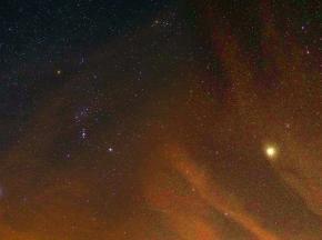 Orion a Venuše