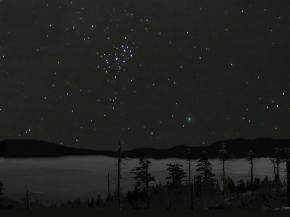 Variace na téma komety Macholz